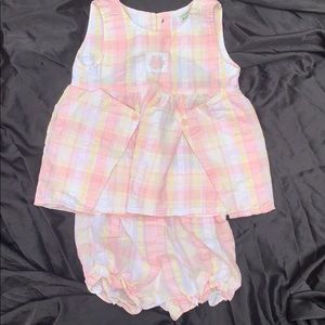 Laura Ashley Pretty 2pc Outfit nwot